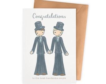 Wedding Celebration Card – Gay Couple