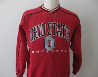 Vintage Ohio State Sweatshirt Adult Medium 90s
