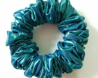 Mermaid Iridescent Hair Scrunchie
