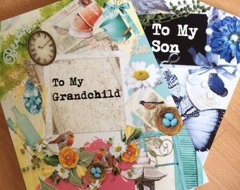 To My Grandchild Memory Journal