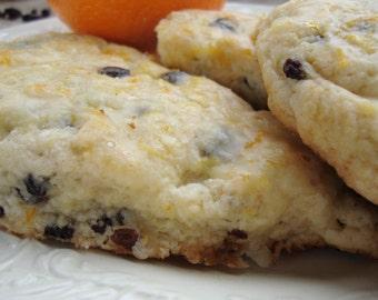 Scones, Orange Currant Scones, Cream Scones, Breakfast Breads, Holiday Brunch Scones, Teatime Scones, Sweet Biscuits