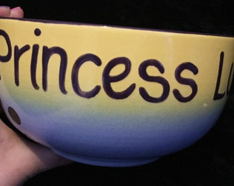 My Little Pony Princess Luna Cutie Mark Breakfast Bowl