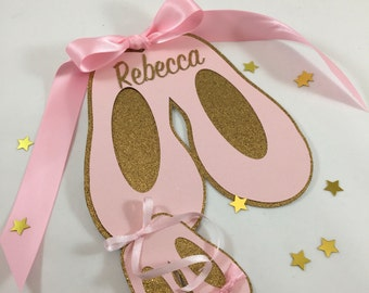 Personalized Ballerina Cake package