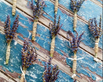 Lavender Boutonnieres (1)