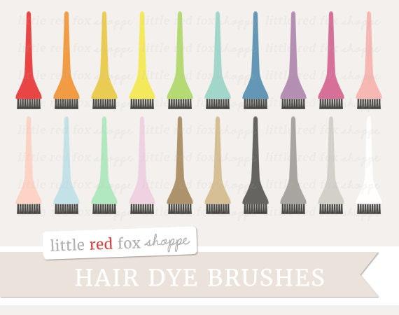 Hair Dye Brush Clipart Applicator Brush Clip Art Hair Stylist