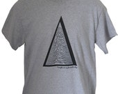 New TRIANGLE Geometric Joy Division Inspired T Shirt Top Tee Mens  ALTj
