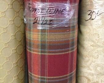 Foxtrot Wine Upholstery Fabric