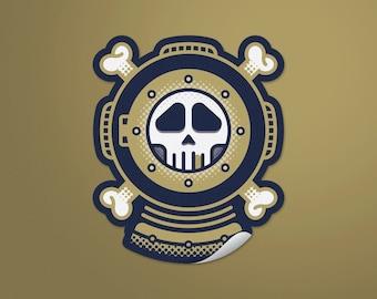 Dead Diver Stickers