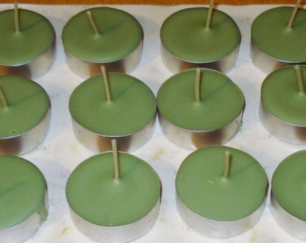36 Pack of Bayberry Tealights Made With Soy