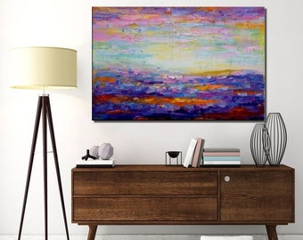Large Painting,  Abstract Landscape Painting, Canvas Art, Large Wall Art, Canvas Painting, Abstract Art, Large Art, Wall Art, Modern Art