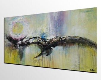Original Art, Wall Art, Abstract Art, Contemporary Art, Abstract Painting,Large Art, Abstract Landascape Painting, Oil Painting, Canvas Art