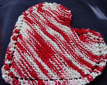Heart Dishcloth/Washcloth
