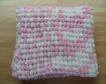 Baby Blankets for Pram, Buggy, Moses Basket. Super Soft & Cuddly. Hand Knitted in UK.