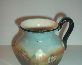 Antique Czechoslovakia 4 Sided Mug