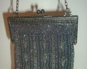 Vintage Beaded Handbag Purse