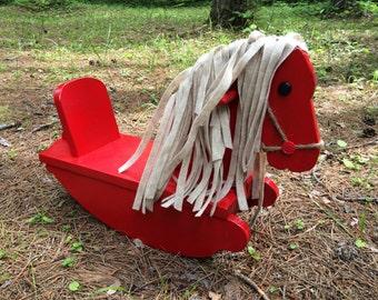 Rocking Horse - Wood