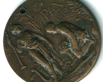 1919 King George V & Queen Mary Peace Medal
