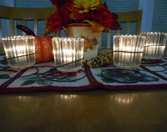 Bedspring Candle Holder