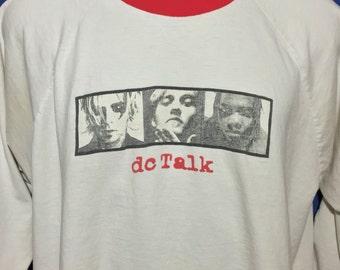 Vintage 1995 DC Talk Jesus Freak Concert Tour longsleeve shirt original *L/XL