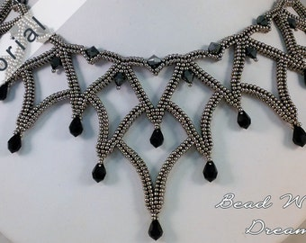 Masquerade Ball Necklace Tutorial