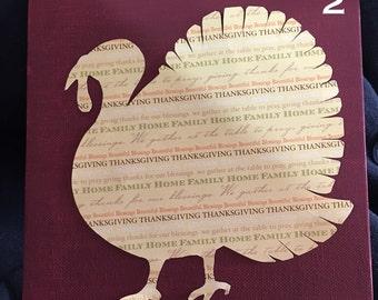 Thanksgiving Turkey Canvas