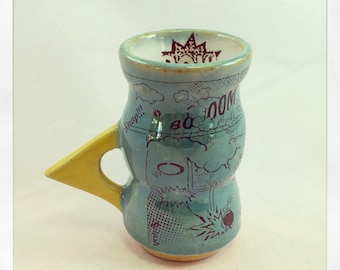 Comic Book- espresso cup