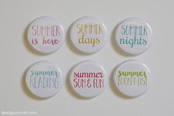 Summertime Flair Mini pin