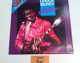 Record sale, vinyl records, Chuck Berry, Rock n Roll, pdl2 1134, double vinyl