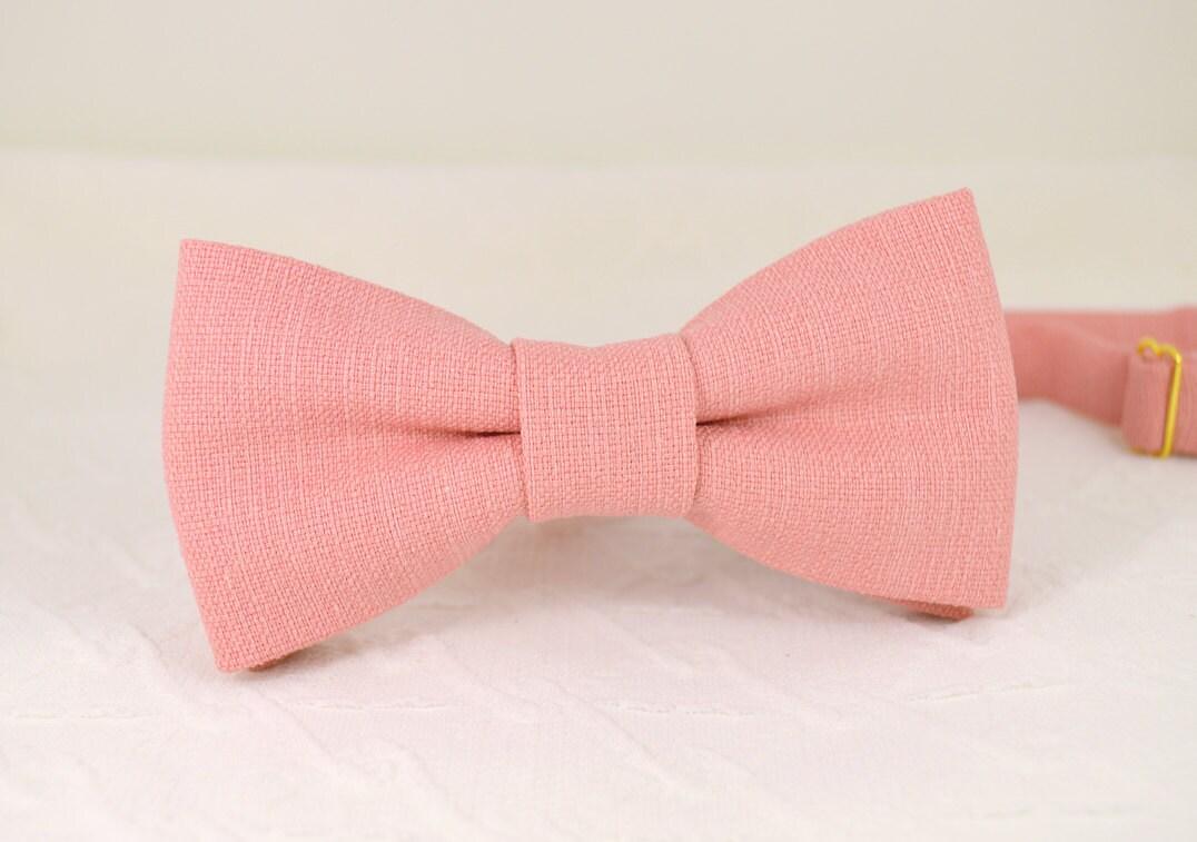 quartz bow tie mens pink bow tie light pink bow tie