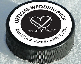"Hockey Puck Favor Labels • 2 1/2"" Circle Labels • Circle Labels • Favor Circle Label • Black and White Circle Labels •  Wedding Favor Label"