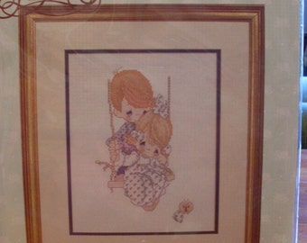 Love Is Kind Precious Moments Counted Cross Stitch Kit