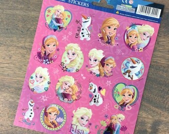 One sheet of Frozen stickers (ST06)