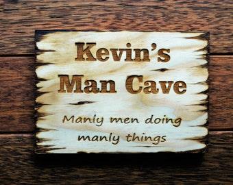 Man cave Sign, man cave decor, man cave, custom man cave sign, personalized man cave, personalized decor for man cave