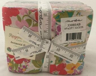 FAT QUARTER BUNDLE   Regent Street Lawns   Premium Cotton Fabric   Floral Fabrics   Moda Fabrics   Sentimental Studios