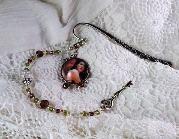 Outlander Bookmark with Jamie and Claire inspired by the Starz adaptation of Outlander