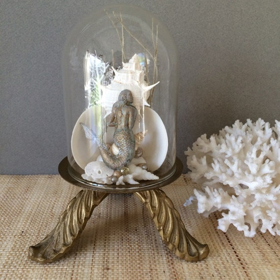 Items similar to vintage mermaid coastal decor mermaid for Beachy decor items