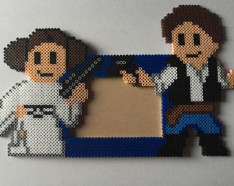 Princess Leia & Han Solo (star wars) picture frame