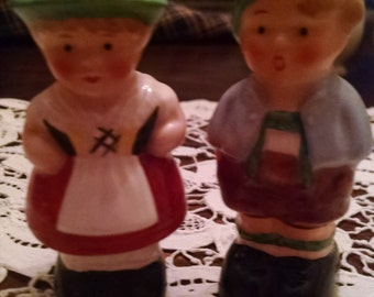goebel  west germany couple salt and pepper shakers