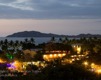 Tamarindo by night - Fine Art Photography