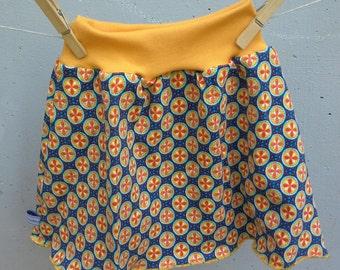 jersey skirt size 4