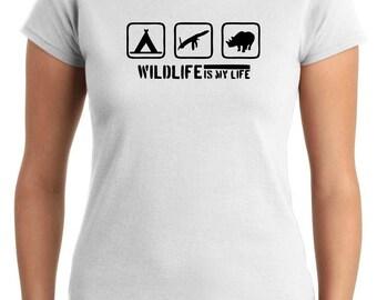 T-shirt SP0151 Wildlife Shirt