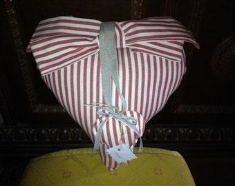 Big hearts handmade linen