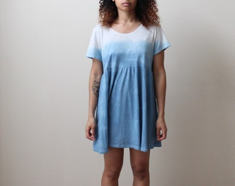 Dip Dye, Ombre Shirt, Shirt Dress, Ava Shirt Dress