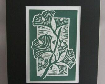 Ginkgo Leaves Print