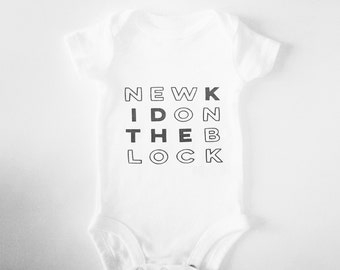 New kid on the block onesie / trend bodysuit