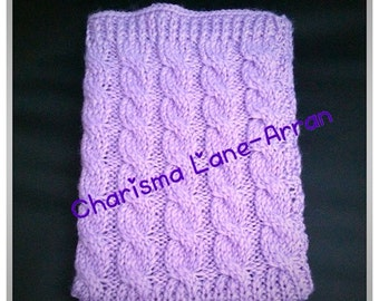 Knitted tablet & ereader covers