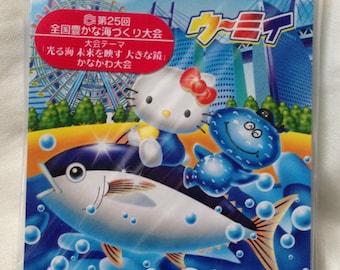 Rare and Beautiful Hello Kitty Kanagawa Japan Exclusive Memo Pad Gotochi / Regional / Kawaii + Bonus!