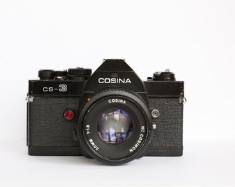 Cosina CS-3 with MD Rokkor-X 45mm F/2 lens