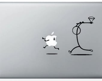 Sticker 'Further axe' for MacBook