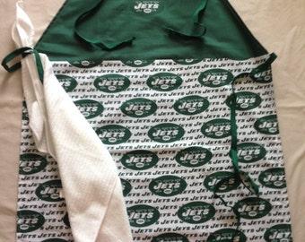 "New York ""Jets"" Grilling Apron w/Detachable Towel"